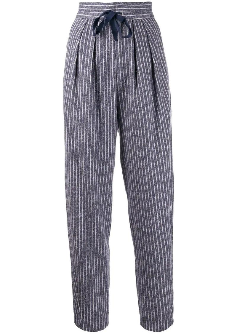 Isabel Marant Platt striped trousers
