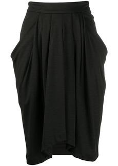 Isabel Marant pleat-detail draped skirt