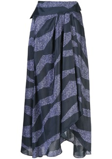 Isabel Marant printed asymmetric skirt