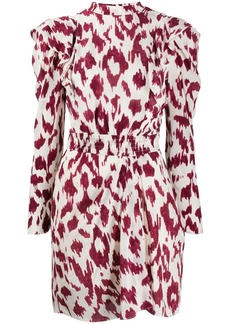Isabel Marant printed frills dress