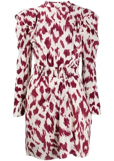 Isabel Marant printed frills dress