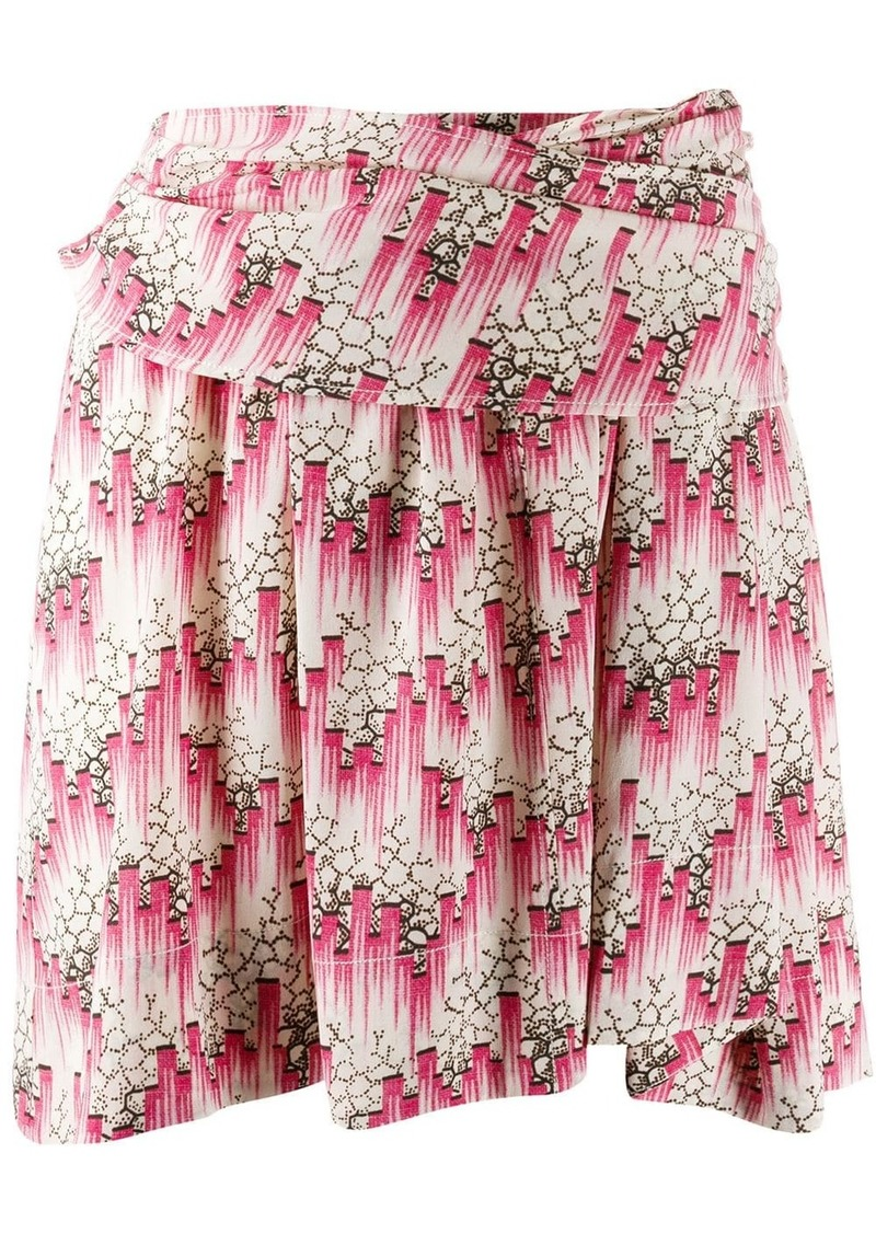 Isabel Marant printed mini skirt