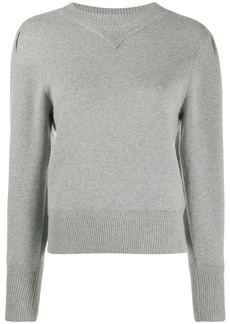 Isabel Marant puff sleeve knitted top