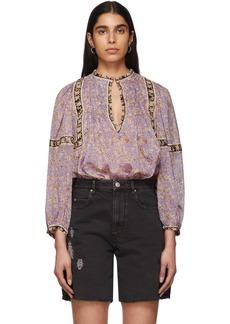 Isabel Marant Purple Violette Blouse