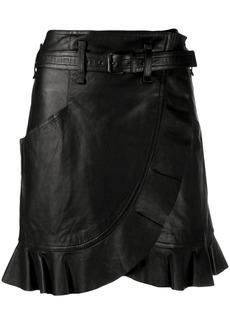 Isabel Marant Qing wrap-style skirt