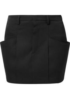 Isabel Marant Rabea Wool-twill Mini Skirt