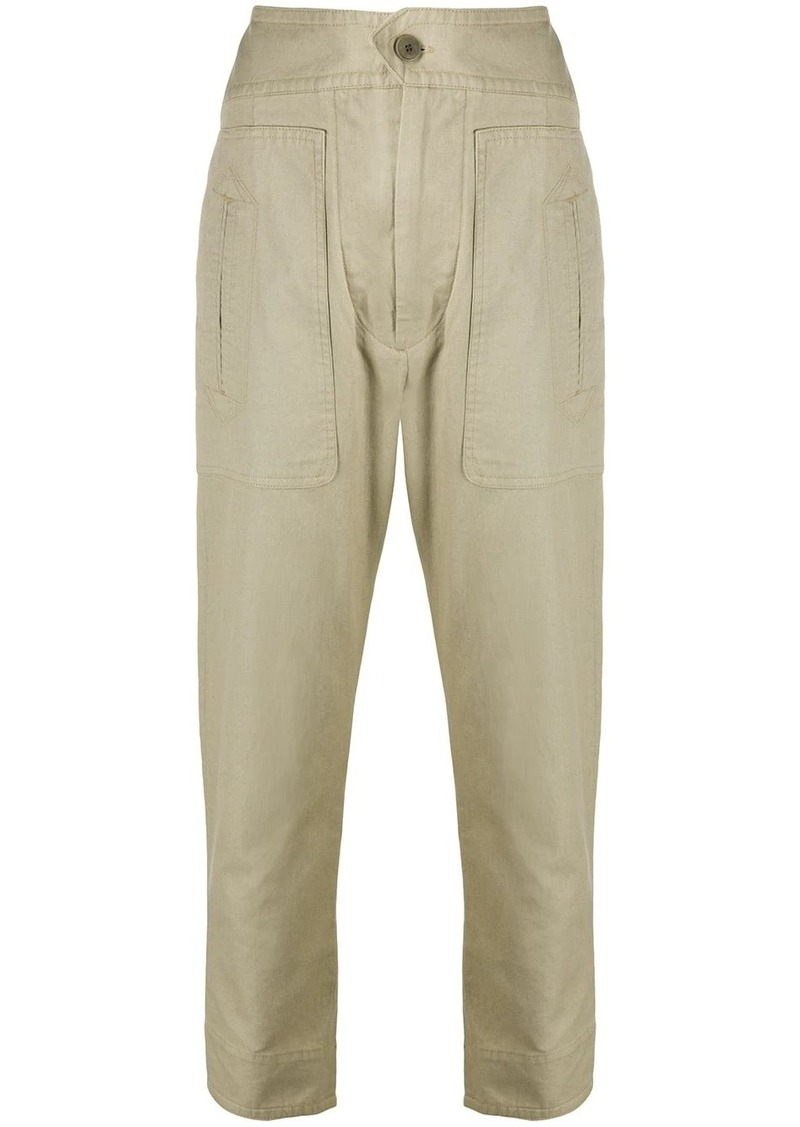 Isabel Marant Raluni cropped trousers