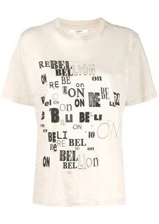 Isabel Marant Rebellion jersey T-shirt