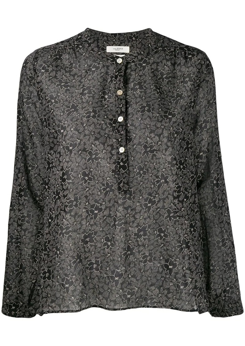 Isabel Marant relaxed floral shirt
