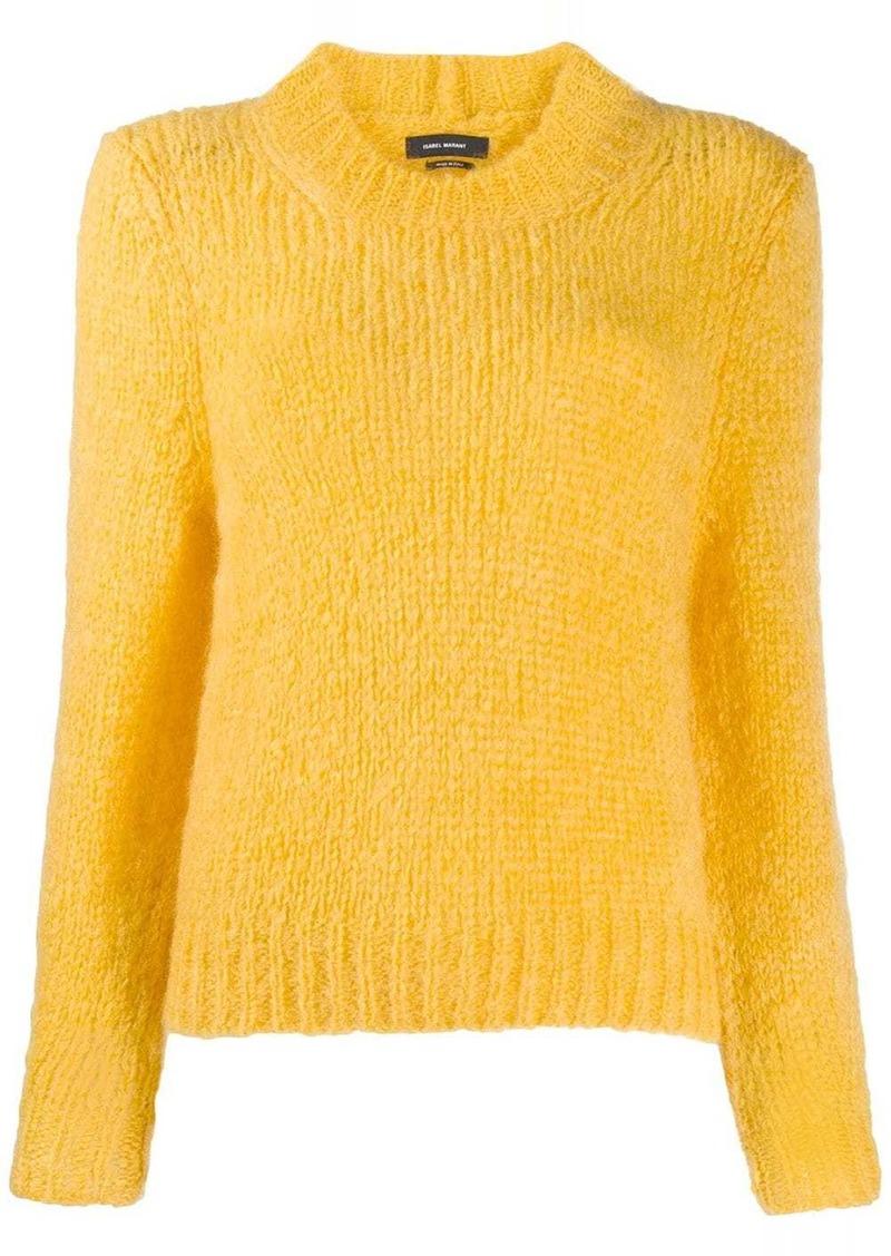 Isabel Marant ribbed trim jumper