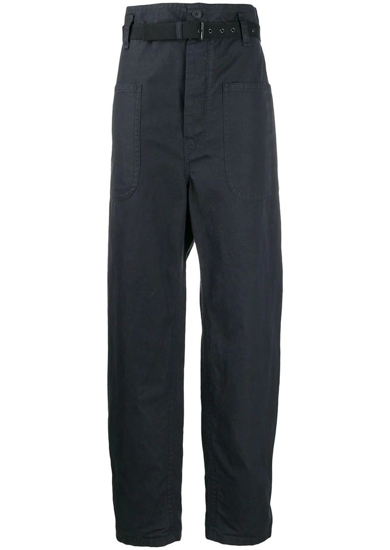 Isabel Marant Rinny belted trousers