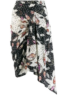 Isabel Marant Roly printed stretch skirt
