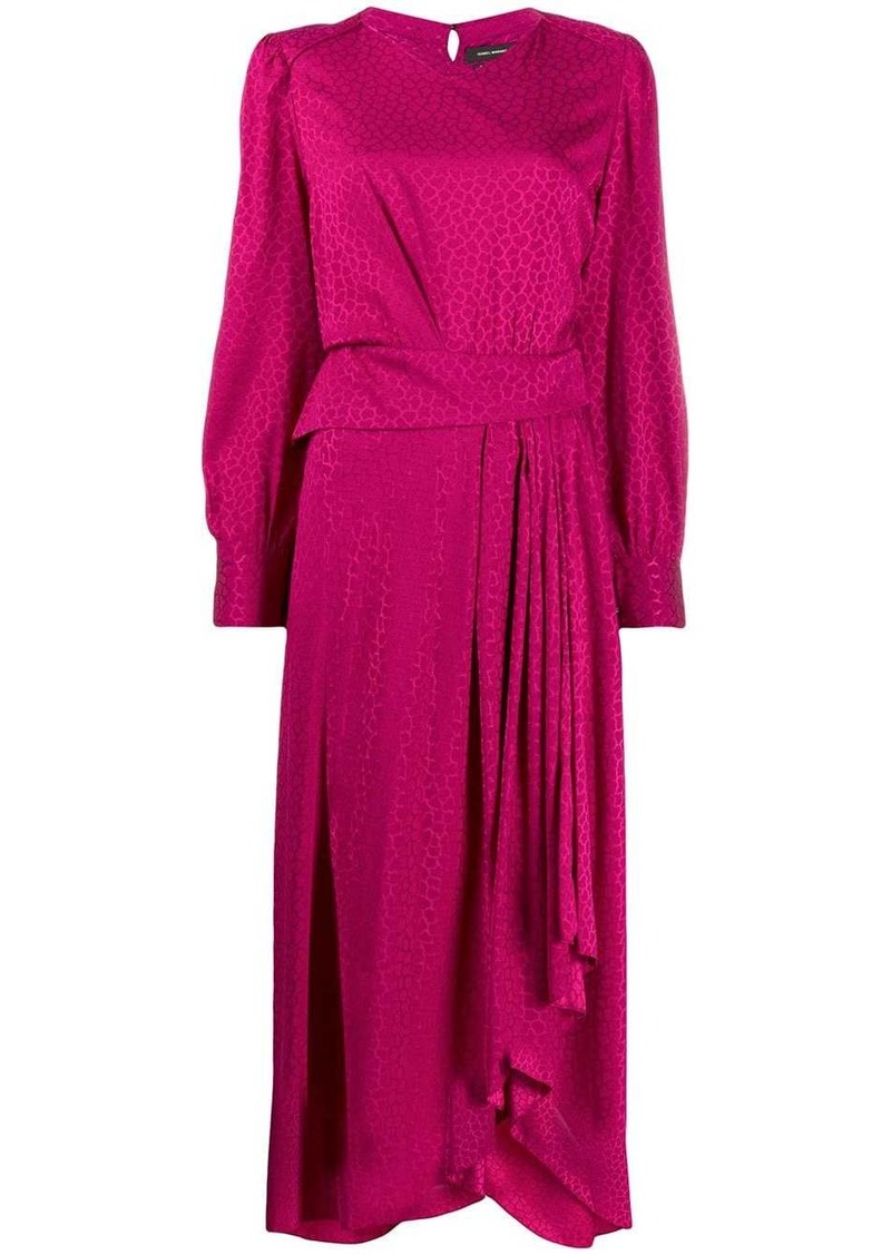 Isabel Marant Romina asymmetric dress
