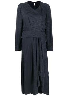 Isabel Marant Romina printed asymmetric dress