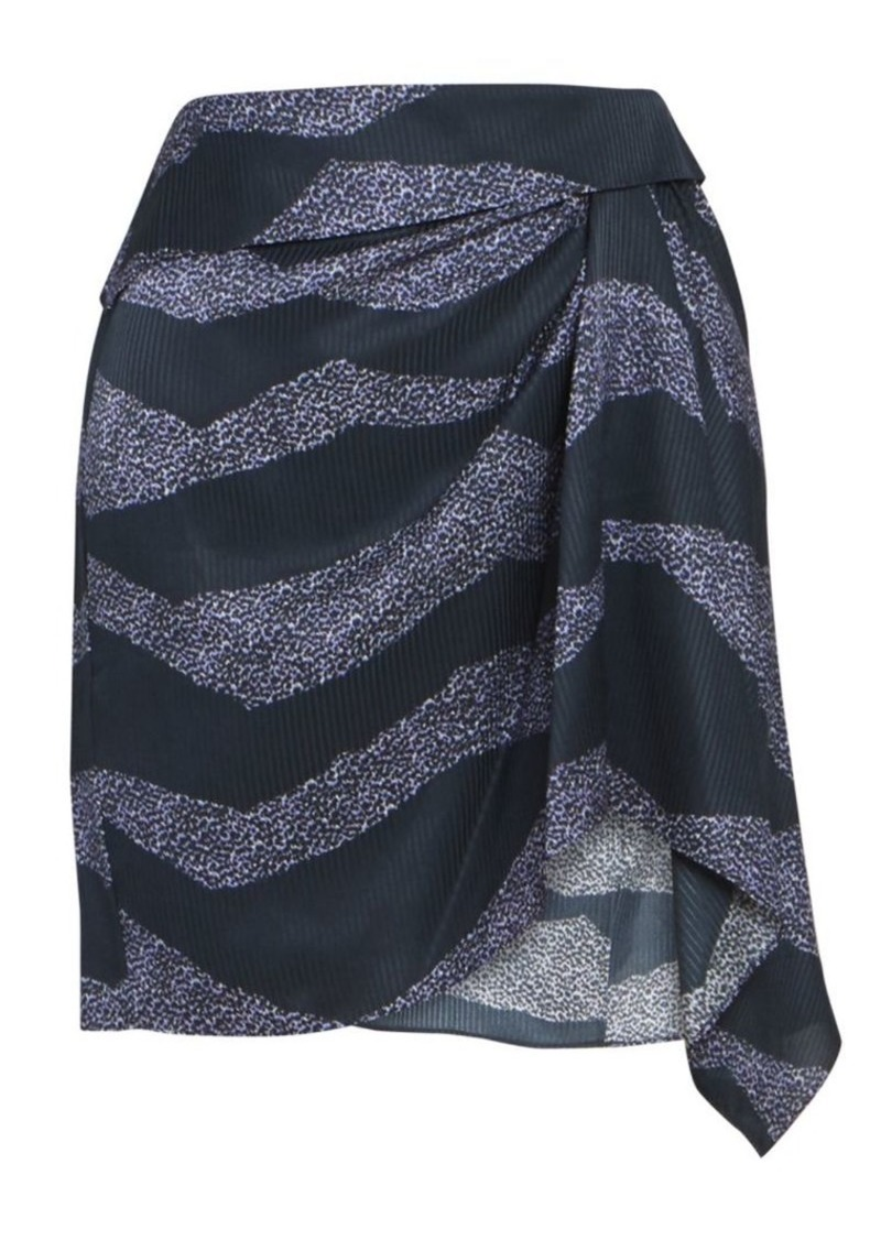 Isabel Marant Rosana Zebra-Print Skirt