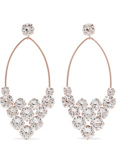 Isabel Marant Rose Gold-tone Crystal Earrings