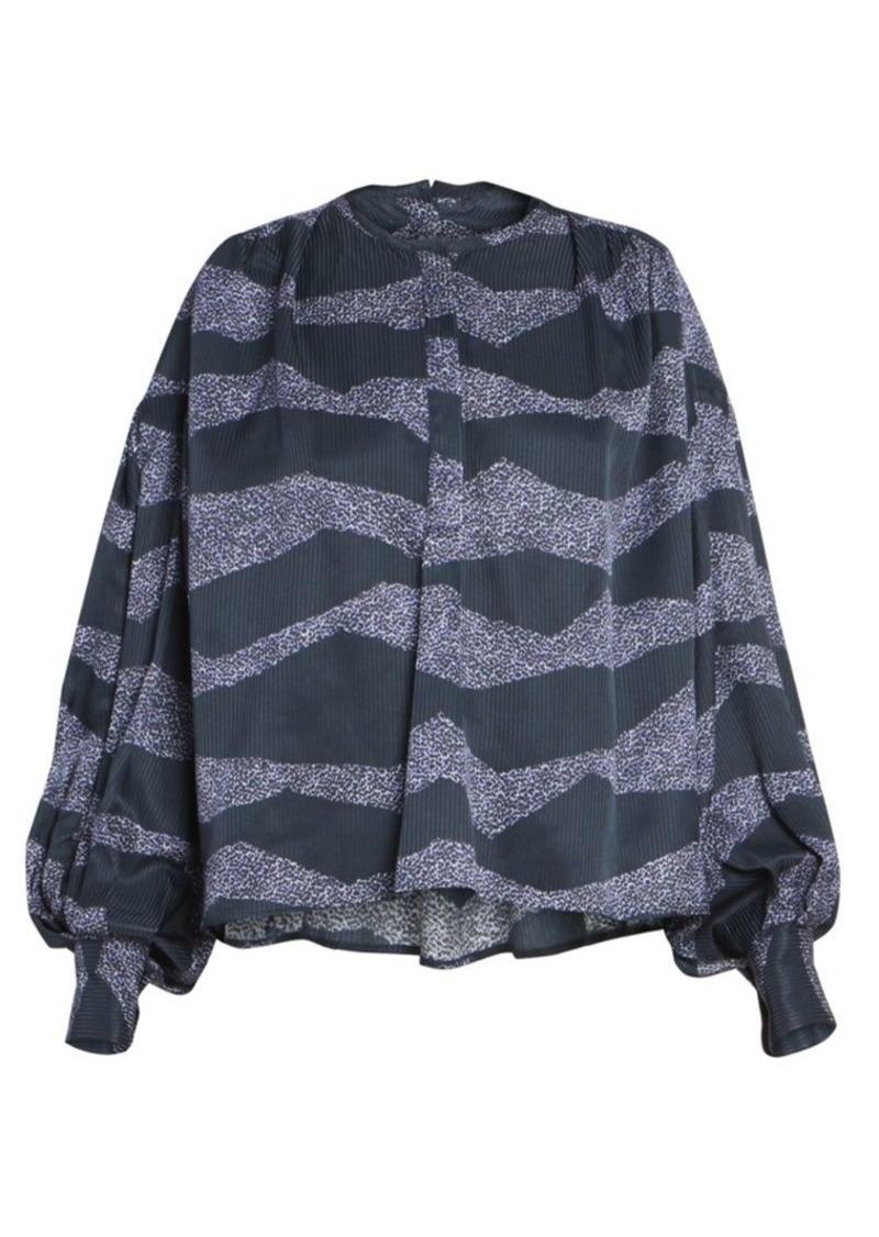 Isabel Marant Rosy Zebra-Print Blouse