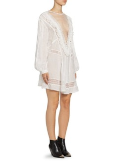 Isabel Marant Rowena Plunging Lace Dress
