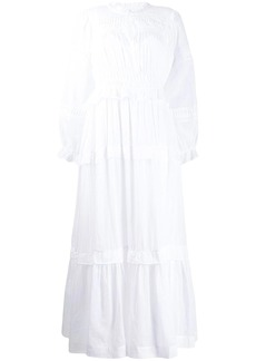 Isabel Marant ruched long dress