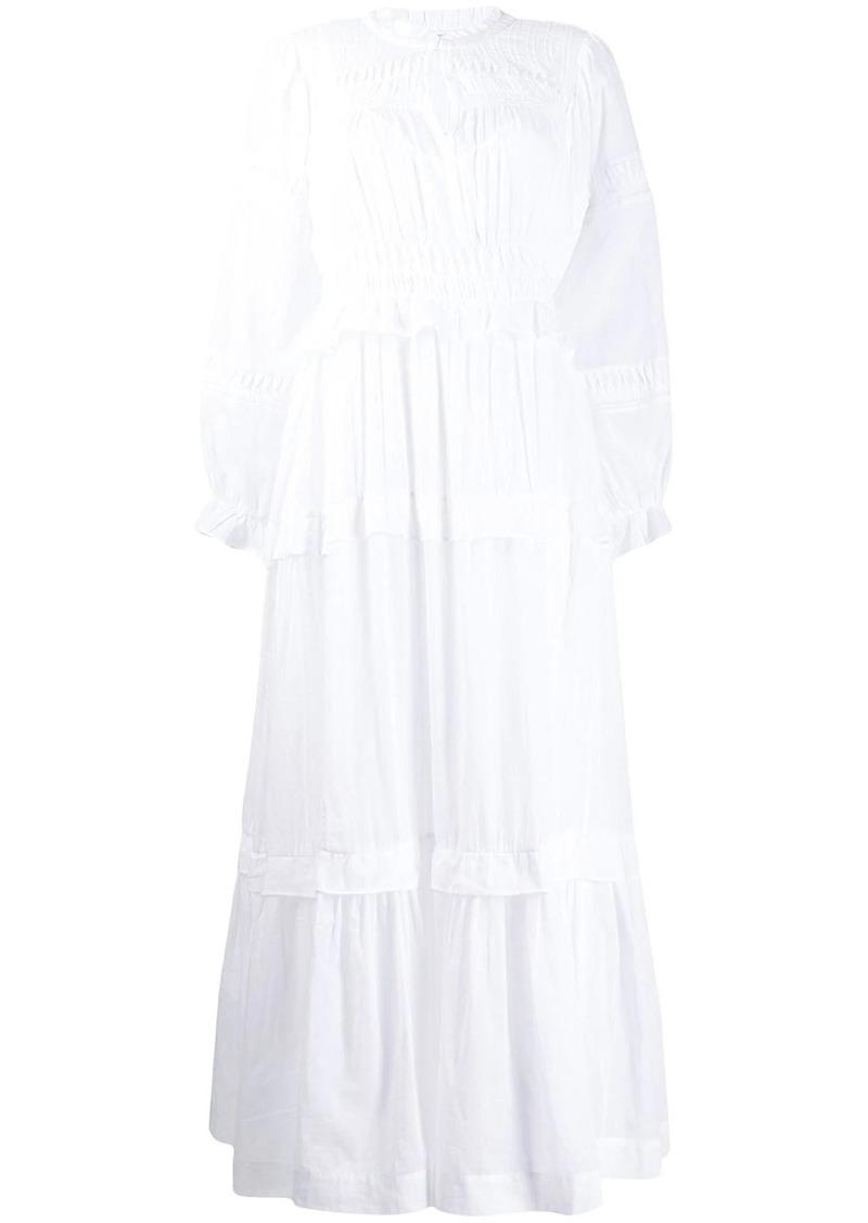Isabel Marant ruched long dress