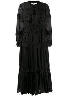 Isabel Marant ruched peplum dress