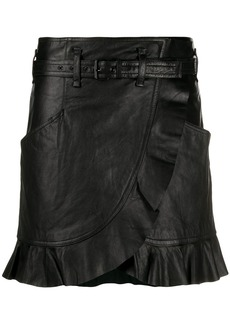 Isabel Marant ruffle wrap skirt