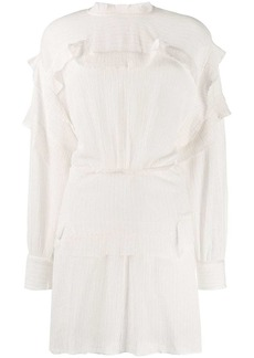 Isabel Marant ruffled mini dress