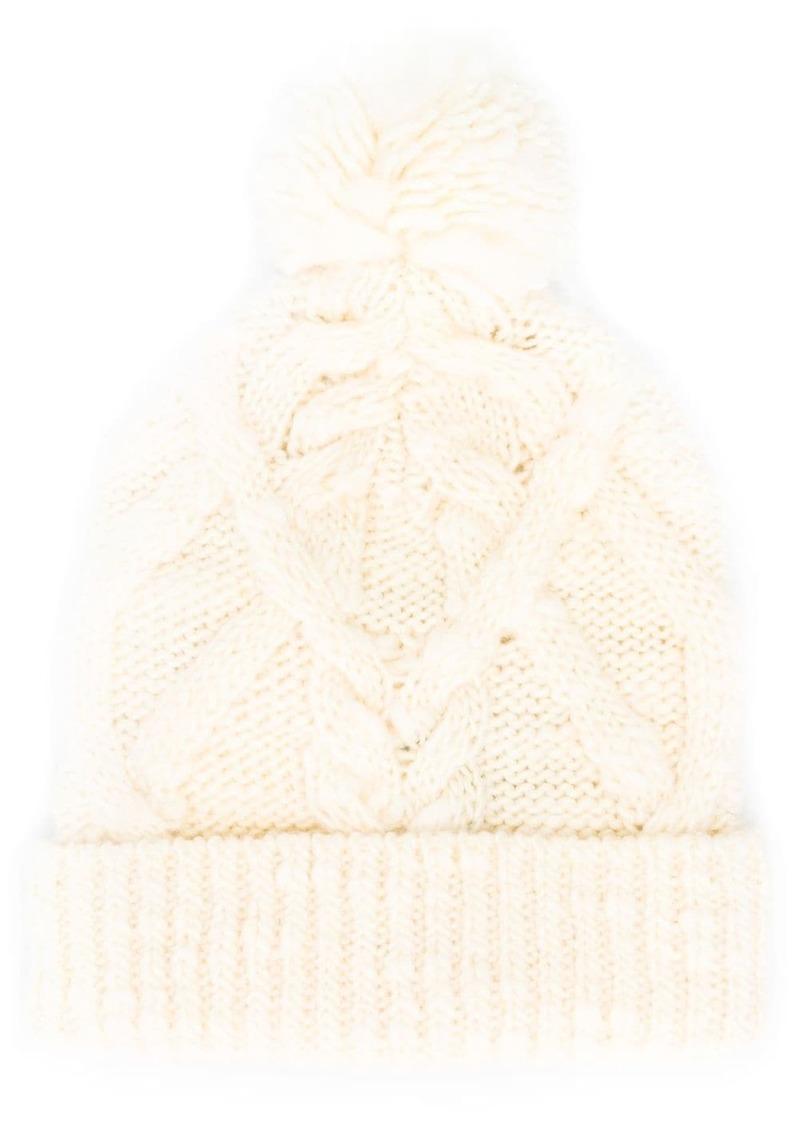 Isabel Marant Ryam cable-knit beanie