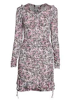 Isabel Marant Sabia Printed Jersey Dress