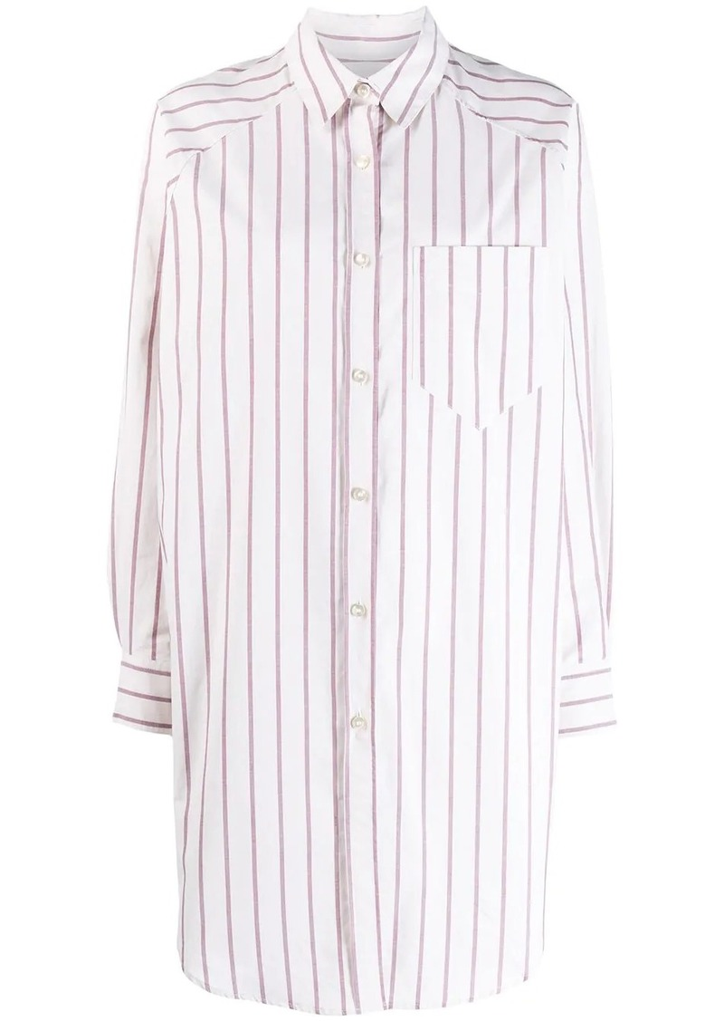 Isabel Marant Sanders striped shirt dress