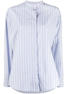 Isabel Marant Satchell stripe-pattern shirt
