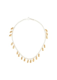Isabel Marant shell charm short necklace