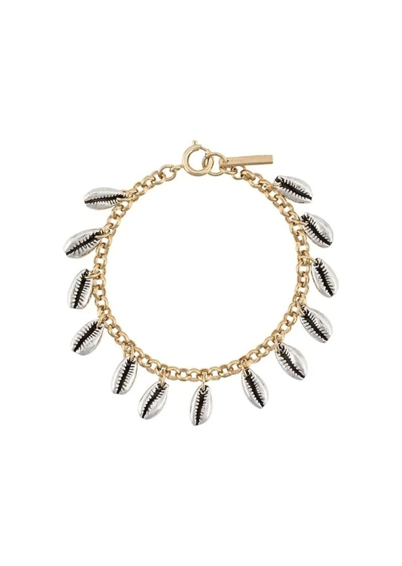 Isabel Marant shell embellished bracelet