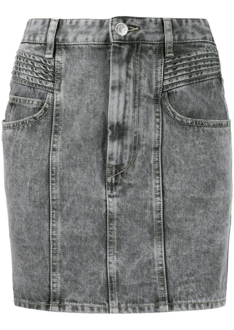 Isabel Marant short denim skirt