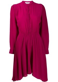Isabel Marant silk dress with Juliet sleeves