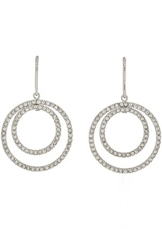 Isabel Marant Silver Concentric Circles Earrings