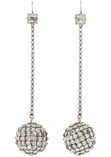 Isabel Marant Silver Disco Ball Earrings