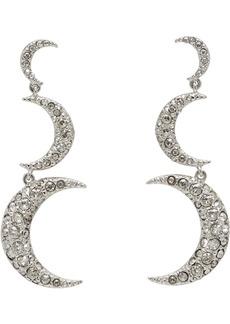 Isabel Marant Silver Full Moon Earrings