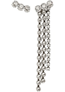Isabel Marant Silver Long Asymmetric Earrings
