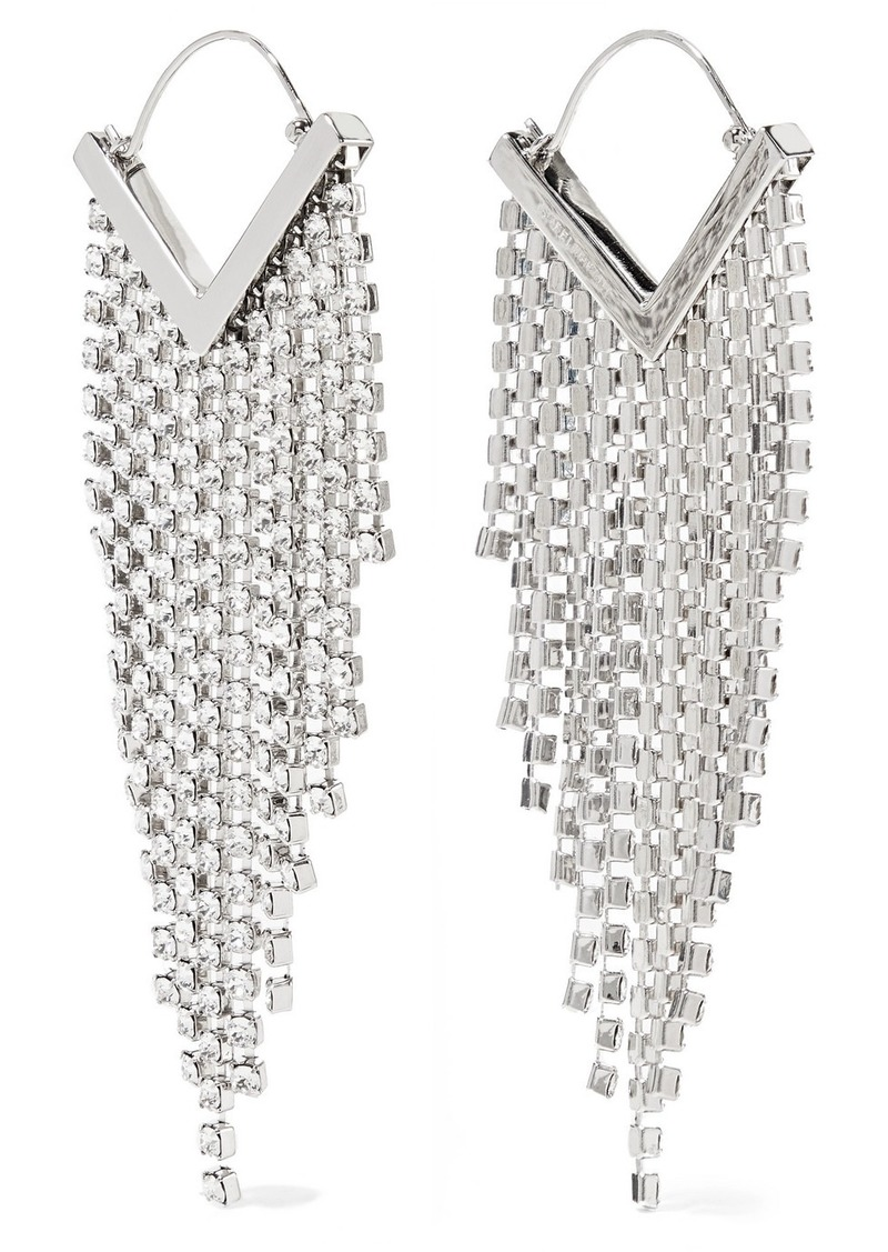927d5e6f0db Isabel Marant Silver-tone Crystal Earrings Now $300.00