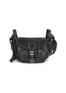 Isabel Marant Sinley Studded Western Shoulder Bag