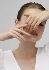 Isabel Marant Slim Full Moon Crystal Ring