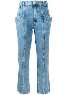 Isabel Marant slim panelled jeans