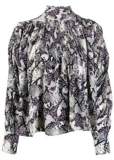 Isabel Marant snake print blouse