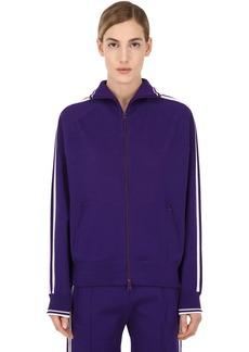 Isabel Marant Stretch Viscose Jersey Track Jacket
