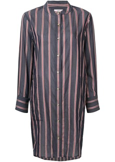 Isabel Marant striped collarless shirt dress