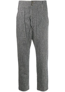 Isabel Marant striped cropped trousers