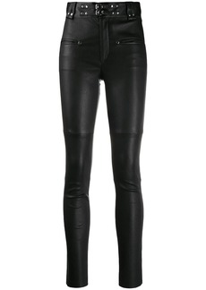 Isabel Marant studded leather trousers