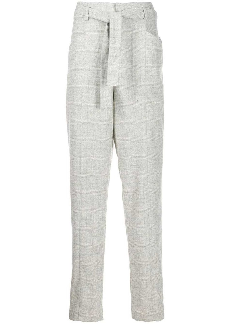 Isabel Marant tapered belted trousers
