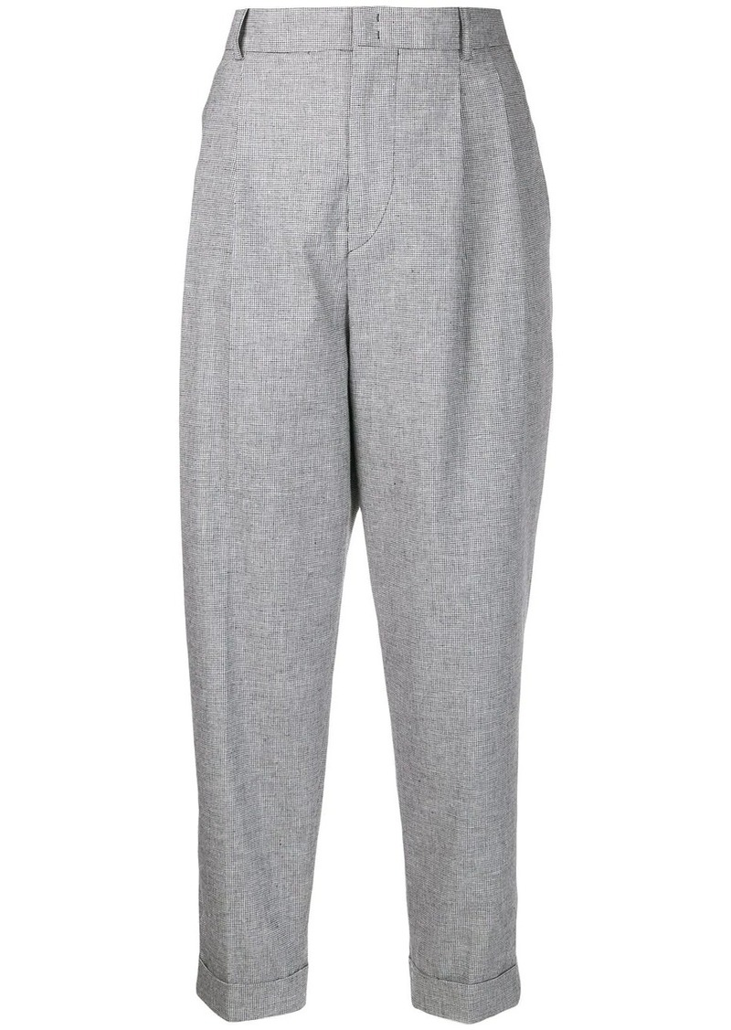 Isabel Marant tapered high rise trousers